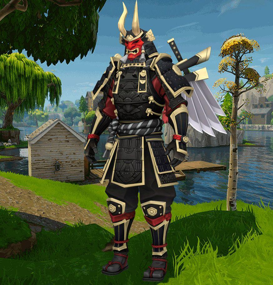 Fortnite Battle Royale Shogun