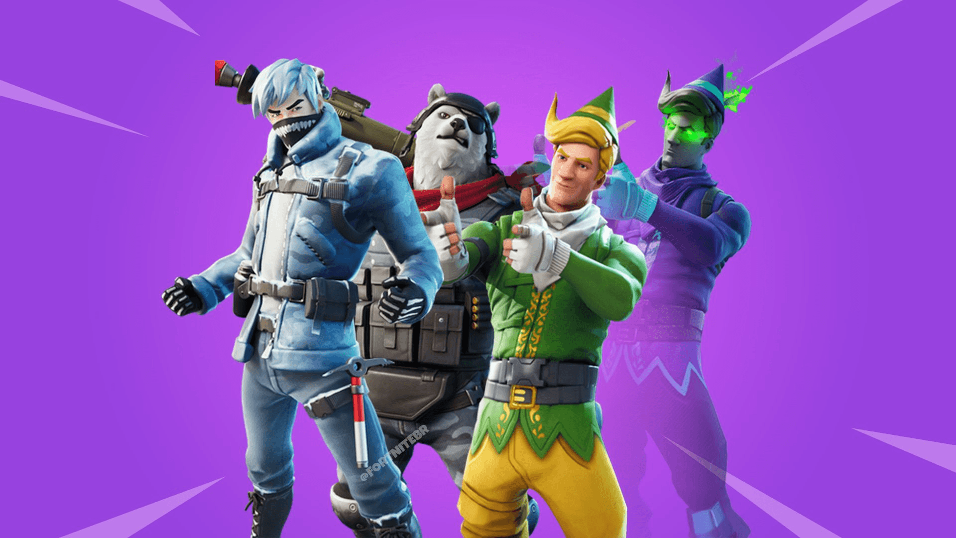 Fortnite Leak: all the new skins and the emotes of the