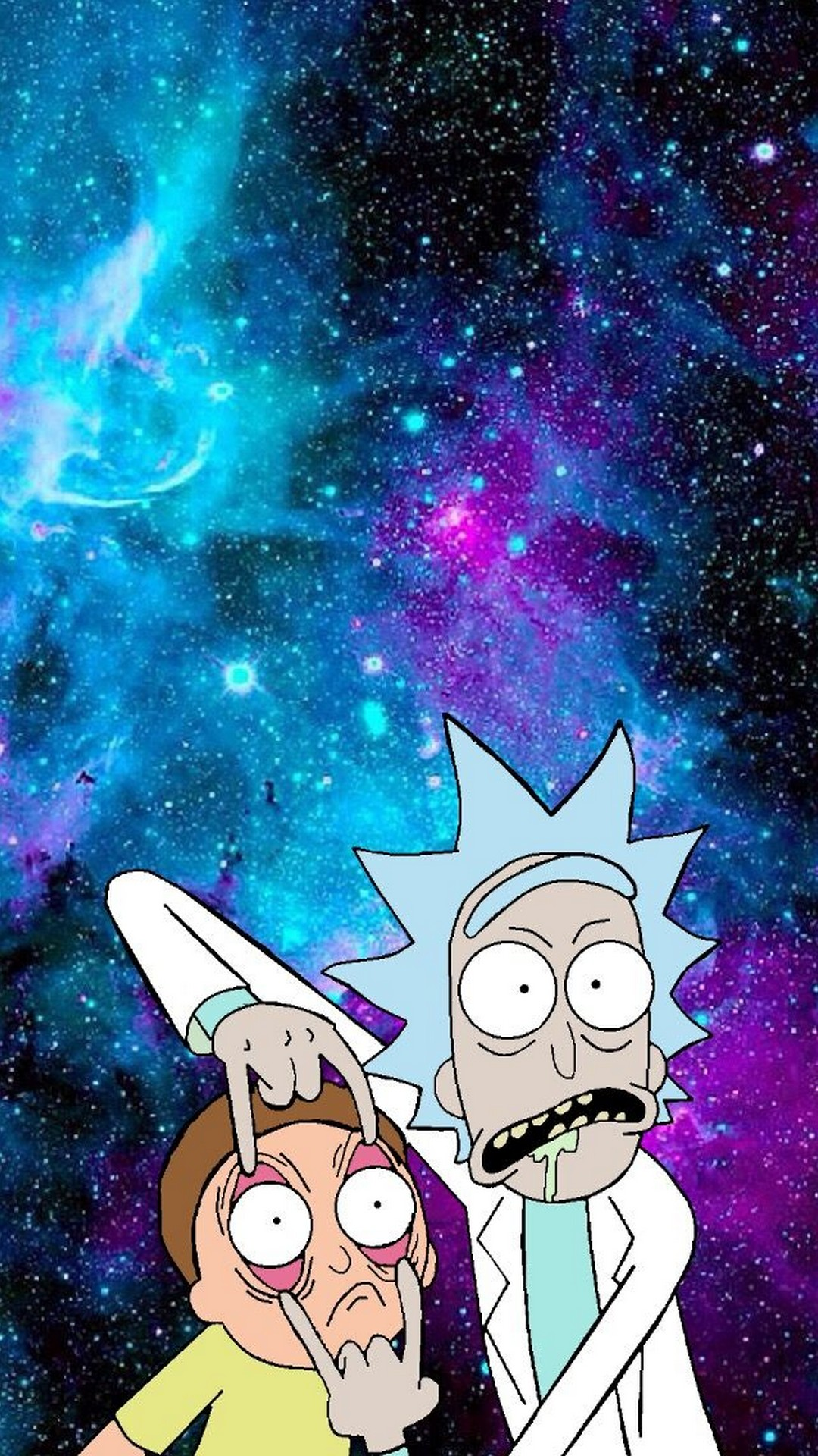 rick and morty wallpaper_morty trippy