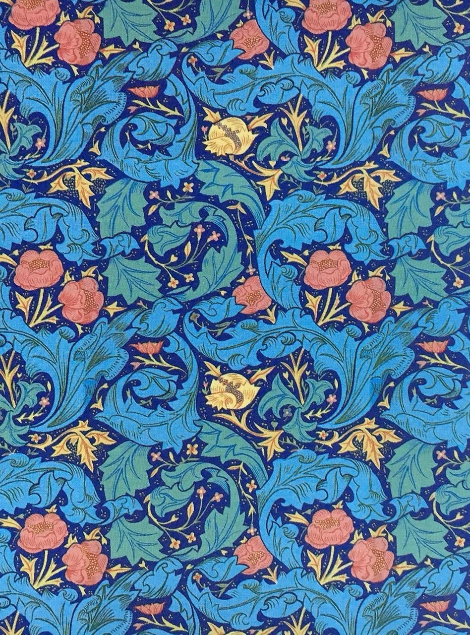 william morris_red