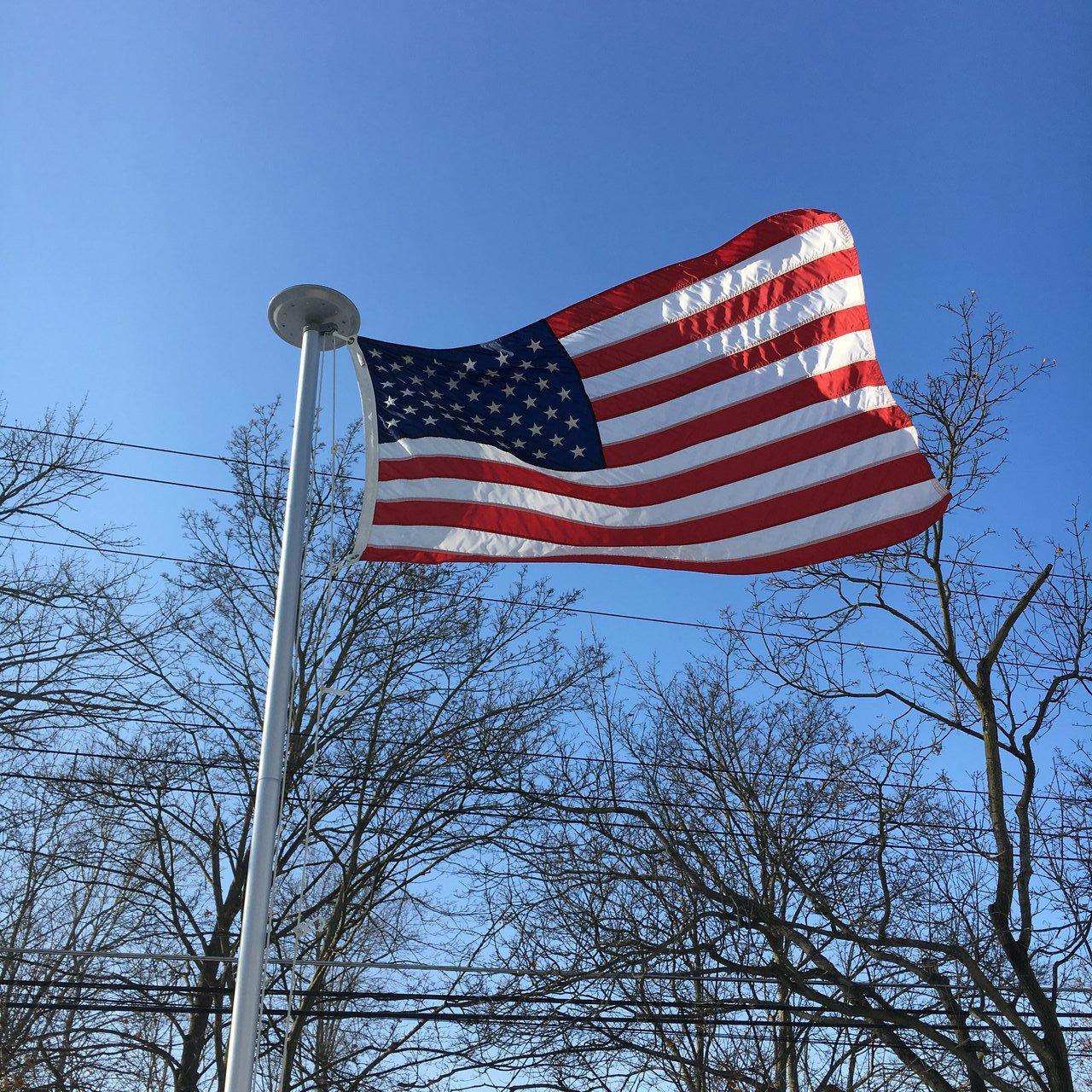 american flag_black
